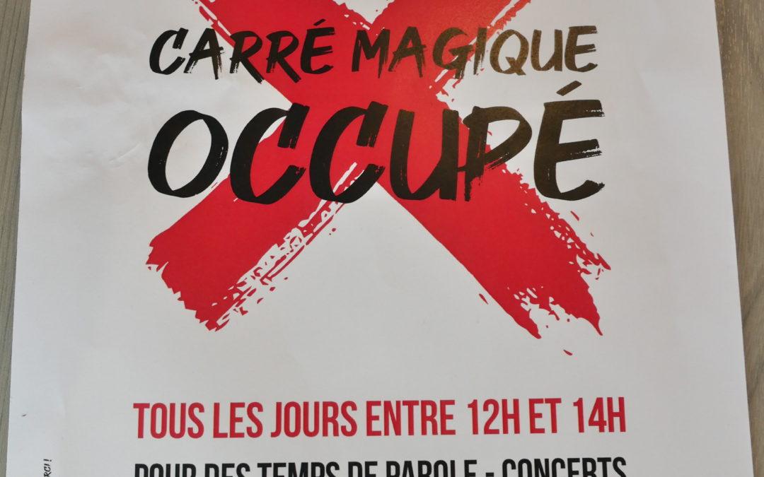 Le Carré Magique Occupé !